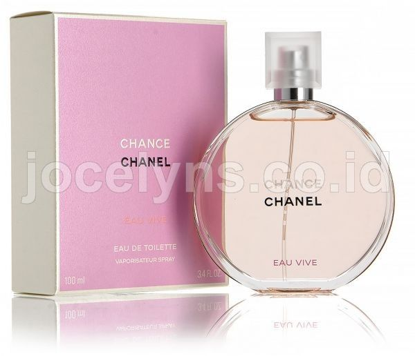 Wanita » A - E » Chanel Chance Eau Vive • Parfum Asli 0dae68ad56