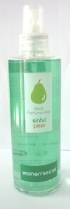 Woman Secret Sinful Pear Body Mist