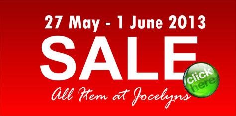 Jocelyns Parfum Sale 27 Mei - 1 Juni 2013